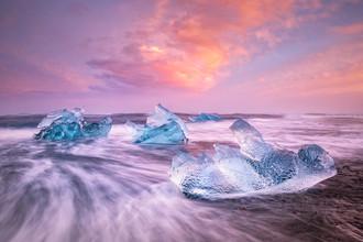 Michael Stein, Eis in der Brandung (Island, Europa)