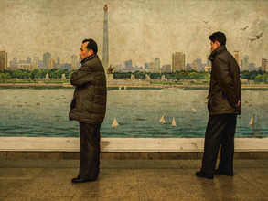 Franziska Söhner, Waiting, North Korea (2017) (Korea, North, Asia)