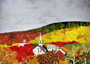 Katherine Blower, New England Fall (United States, North America)