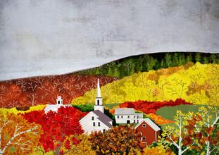 Katherine Blower, New England Fall (Vereinigte Staaten, Nordamerika)