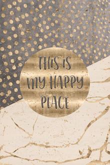 Melanie Viola, GRAFIKKUNST This is my happy place (Deutschland, Europa)