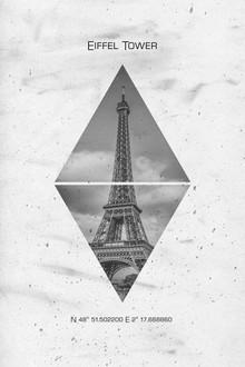 Melanie Viola, Koordinaten PARIS Eiffelturm (Frankreich, Europa)