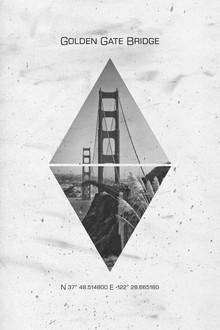 Melanie Viola, Koordinaten SAN FRANCISCO Golden Gate Bridge (Vereinigte Staaten, Nordamerika)