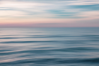 Evening at the Baltic Sea - fotokunst von Holger Nimtz