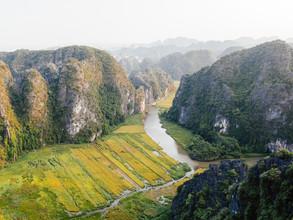 Manuel Gros, Die Reisfelder von Ninh Binh // Vietnam (Vietnam, Asien)