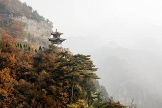 Manuel Gros, Pagode // Mian Shan Gebirge, China (China, Asien)