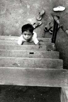 Silva Wischeropp, LOOKING UP  - Little Boy - Central Highland - Vietnam (Vietnam, Asia)