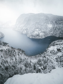 Roman Huber, Winter am Königssee (Deutschland, Europa)