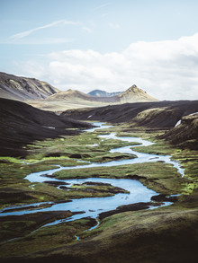 Roman Huber, River in the Highlands of Iceland (Iceland, Europe)