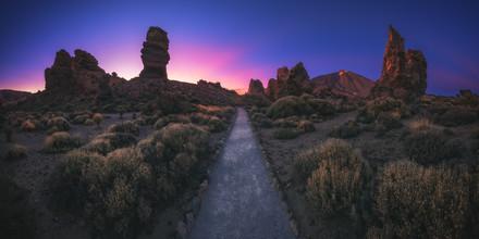 Jean Claude Castor, Teneriffa Teide Plateau Panorama zum Sonnenuntergang (Spanien, Europa)