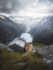 Roman Huber, Sommer auf der Olperer Hütte (Österreich, Europa)