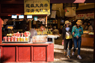Oona Kallanmaa, Food market in China (China, Asia)