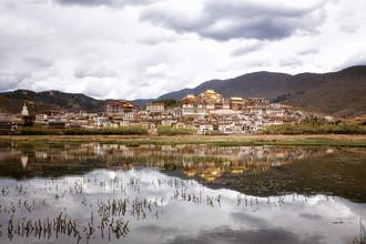 Ganden Sumtseling Monastery - Fineart photography by Oona Kallanmaa