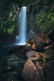 Jean Claude Castor, Karibik Insel Guadeloupe Wasserfall Chutes du Carbet (Frankreich, Europa)