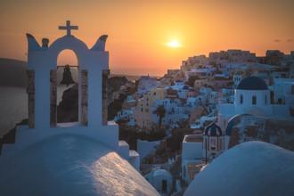 Jean Claude Castor, Griechenland Santorini Oia Sonnenuntergang (Griechenland, Europa)