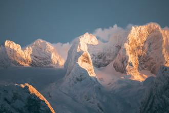 Sebastian 'zeppaio' Scheichl, Last light on mount Dachstein (Austria, Europe)