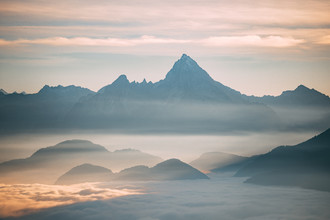 Sebastian 'zeppaio' Scheichl, Mount Watzmann above the clouds (Deutschland, Europa)