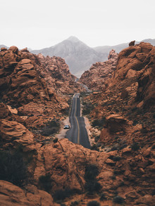 Valley of Fire - fotokunst von Ueli Frischknecht