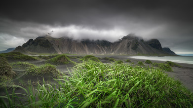 Anke Butawitsch, Vestrahorn - summit in clouds (Iceland, Europe)