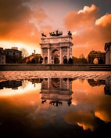 Vincenzo Romano, Arco della Pace (Italy, Europe)