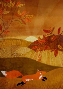 Katherine Blower, Fox on the run (Großbritannien, Europa)