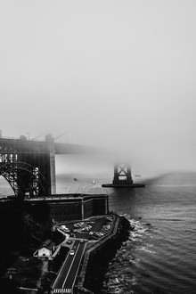 Golden Gate Bridge - fotokunst von Sebastian Trägner