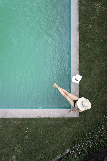 Studio Na.hili, Summer at the Pool (Germany, Europe)