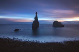 Jean Claude Castor, Madeira Ilheus da Janela Langzeitbelichtung bei Sonnenuntergang (Portugal, Europa)