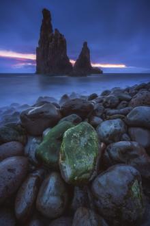 Jean Claude Castor, Madeira Ilheus da Janela Felsen zum Sonnenaufgang (Portugal, Europa)