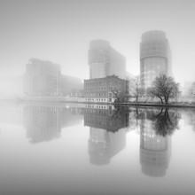 Spreebogen Berlin - fotokunst von Ronny Behnert