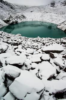 Peter Wey, Wildsee mountain lake in winter (Switzerland, Europe)