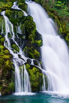 Peter Wey, Waterfall at Jaun (Switzerland, Europe)