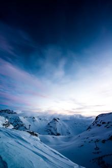 Peter Wey, Sonnenaufgang Bernina Tal im Engadin (Schweiz, Europa)