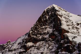 Peter Wey, Eiger bei Sonnenuntergang (Schweiz, Europa)