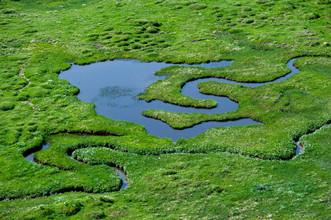 Peter Wey, Kleiner Fluss im Greina Tal (Schweiz, Europa)