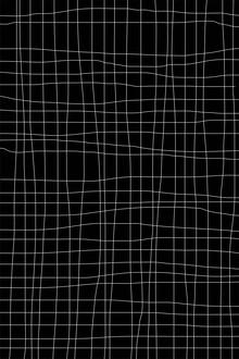 Grid Black - fotokunst von Studio Na.hili