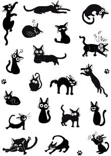 Katherine Blower, Black cat Moods (United Kingdom, Europe)