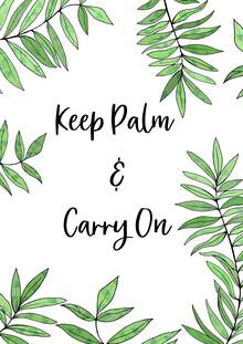 Katherine Blower, Keep Palm and Carry on (United Kingdom, Europe)