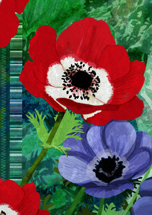 Katherine Blower, Painted Petals (Großbritannien, Europa)