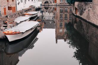 Katja Kemnitz, Canal in Bruges (Belgium, Europe)