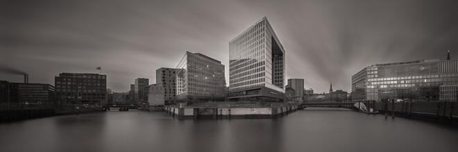 Panorama Spiegelhaus Hamburg - fotokunst von Dennis Wehrmann