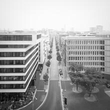 Dennis Wehrmann, View Harbour City from the Elbphilharmonie Plaza, Hamburg (Germany, Europe)