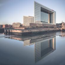 Dennis Wehrmann, Spiegelgebäude Ericusspitze Hamburg (Deutschland, Europa)