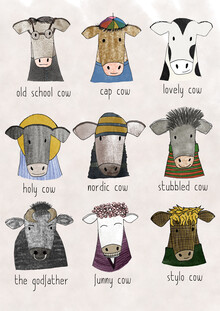 Andrea Hansen, Cows (Germany, Europe)