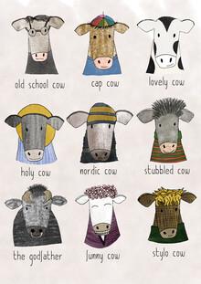 Andrea Hansen, Cows (Germany, Europe)