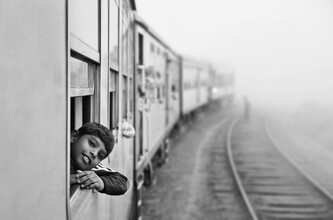 Victoria Knobloch, Train Ride (Sri Lanka, Asia)