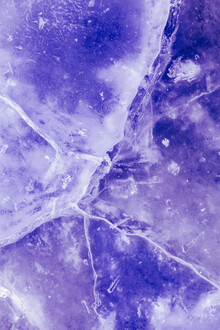 Sebastian Worm, Purple ice cracks (Norway, Europe)