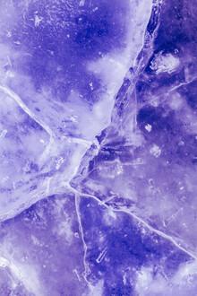 Sebastian Worm, Purple ice cracks (Norwegen, Europa)
