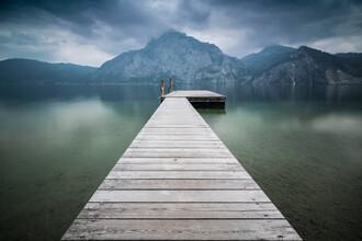 Martin Wasilewski, Pier at lake Traunseee (Austria, Europe)