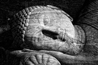 Sleeping Buddha - Fineart photography by Jagdev Singh